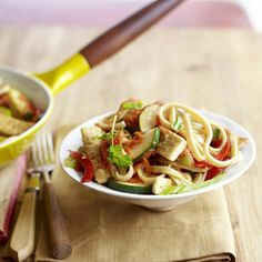 Get the recipe for Lo Mein Primavera