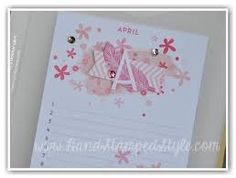 Image result for stampin up perpetual birthday calendar