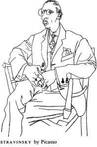 Picasso's Stravinsky