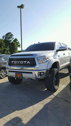 Solid Grille Insert Decal Graphic Sticker For Toyota Tundra 2014-2017 SILVER