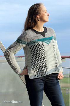 casual sweater, Scheepjes Bloom