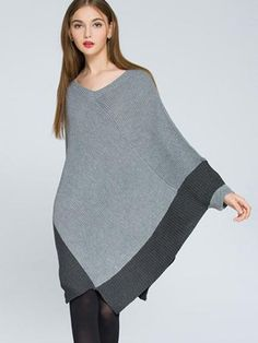 Loose Long Cardigans Coats Scarf Collar Long Sleeve Women Knit Sweaters - OneBling