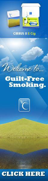 White Cloud Cirrus 2 Premium e-cigarette