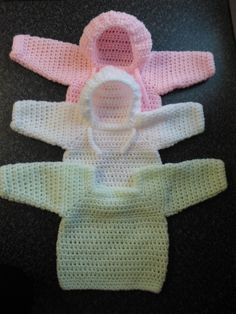 How to crochet my easy baby jumper/sweater/pull over/hoodie tutorial is quite possibly the easiest jumper you will ever make. Click 'show more' to see the pa...