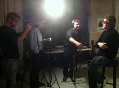 Backstage! Come and see Richard Dumas interview on http://www.eyesinprogress.com/241/portrait.html?video ! Thanks to journalist Thierry Drussard and Webdocu.fr team!