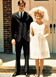 Dolly Parton at her wedding in 1966. Her husband Carl Dean has maintained an astonishingly low profile #DollyParton