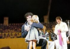 In Norfolk, VA. on July 20, 1975, Elvis found out this little girl was blind. Later it was discovered he paid for every last penny of the surgery to give her sight. She now does computer graphic work for a company on the west coast.