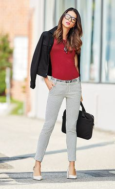 In today's article, we will share some amazing work outfits to wear this fall with you. It's high time to get down to serious fashion business dresses Cute Office Outfits, Stylish Work Outfits, Business Casual Outfits, Professional Outfits, Work Casual, Business Dresses, Women's Casual, Work Attire, Office Attire