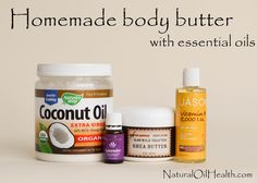 whipped body butter. You can use any Young Living essential oil of your choice.