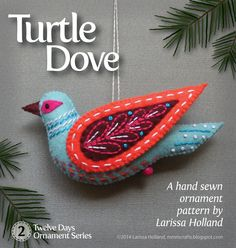 mmmcrafts: Turtle Dove pattern in the shop!