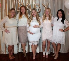 White Baby Shower   All Guests Wear White