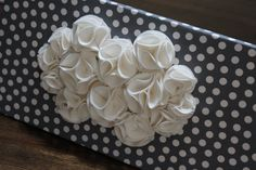 Gray and White 3D Wall Art Canvas Gray and White by tentiljoy, $40.00
