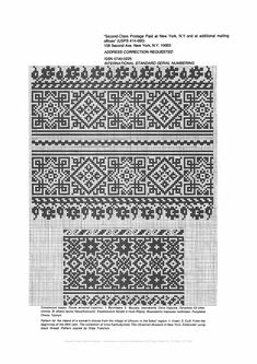 Beading _ Pattern - Motif / Earrings / Band ___ Square Sttich or Bead Loomwork ___ Яндекс. Cross Stitching, Cross Stitch Embroidery, Hand Embroidery, Cross Stitch Patterns, Thread Crochet, Filet Crochet, Knitting Charts, Knitting Patterns, Beading Patterns