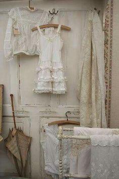 Il fascino dei merletti e ricami antichi nello Stile Shabby