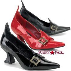 SALEM-06, Witch Shoes Made By FUNTASMA