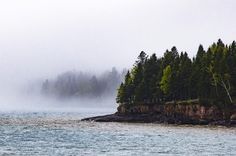 Day 89 (2 days ago) Fog at Castle Danger. 1:23 PM. #onlyinmn #lakesuperior #mn #capturemn #jandlchallenge #thisismymn by danjandl