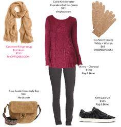 raspberry red sweater, black leggings or skinny jeans, black sneakers