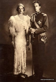 Wedding photograph 1926 At an evening ball, Astrid, a Swedish princess, danced all night with Leopold of Belgium. And as the night progressed, Leopold and Astrid never left each other's side.
