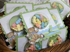 Basket of Baby Shower Favors