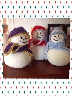 Snowmen gourds!