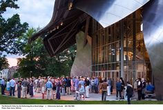Fisher center, Annandale-on-Hudson, 2003 - Gehry Partners LLP