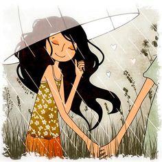 """""""Para ver o arco-íris, é preciso não temer a chuva.""""Paulo Coelho"""