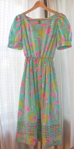 Vintage lilly pulitzer dress with cut out bottom  on Etsy, $87.00