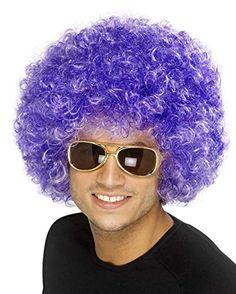 Bliss Pro's Purple Afro Wig Halloween Costume Party Wig 70 80 Disco Clown Party Hair http://www.amazon.com/dp/B00FCC5ATC/ref=cm_sw_r_pi_dp_uwaqvb0G5NMJV