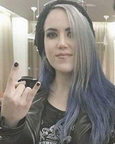 Black Metal, Heavy Metal, Alissa White, Women Of Rock, Arch Enemy, Metal Girl, Screen Shot, Long Hair Styles, Celebrities