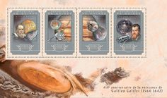 Post stamp Guinea GU 14605 a anniversary of Galileo Galilei Io, Asteroid 951 Gaspra, {…}, Calisto, Camera SSI) Astronomy, Patches, Anniversary, Stamps, Movie Posters, Space, Link, Art, Seals