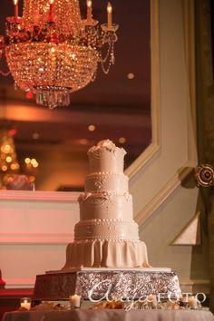 Wedding Cakes anyafoto.com #wedding #weddingcakes, wedding cake ideas, wedding cake desings, white wedding cake, 4 tier wedding cake, white rose wedding cake, sugar flowers, swirl wedding cake