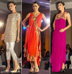 Color, glamour & high heels at the Pakistani designers showcase