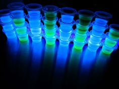 Find out how Blacklight Jello Shots are bringing SEXY back! See the easy recipe and photos inside, and learn the secret to this magical shot!