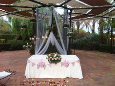 Ceremonia civil #vintage (#boda Vivas y Edu 23-08-14)