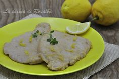 Lonza di maiale al limone Secondo piatto dal gusto fresco.