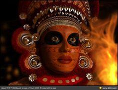 THEYYAM - the popular Hindu ritual form of worship of North Malabar, Kerala.
