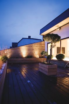 Roof terrace. Copenhagen Penthouse I by Norm.Architects.