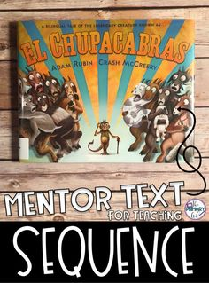 If you are teaching sequence, El Chupacabras is such a fun book that will help your students work on ordering the events of the story! Reading Lessons, Reading Skills, Teaching Reading, Reading Workshop, Math Lessons, Teaching Ideas, Learning, Reading Comprehension Skills, Reading Strategies