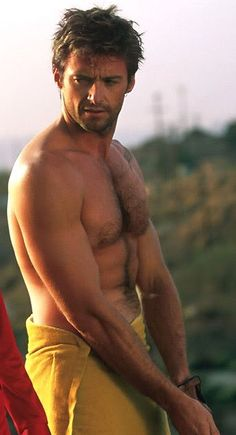 Hugh Jackman - inspiration for Aden, Secrets for Seducing a Royal Bodyguard.
