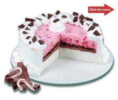 Dairy Queen Ice Cream Cakes - I wanted one of these for my birthday.