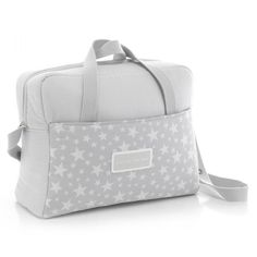 Cambrass Maternity Bag 17 x 39 x 32 cm Star Grey Shipping Included Baby Doll Strollers, Cute Diaper Bags, Baby Changing Bags, Diy Bags Purses, Baby Gadgets, Patchwork Bags, New Bag, Baby Patterns, Handmade Bags
