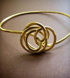Twist Bangle - Brass by Simple Twist Jewelry on Scoutmob Shoppe