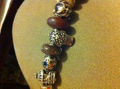 My new sugar skull from redbalifrog on my bracelet! Thanks mom!! I love it!!