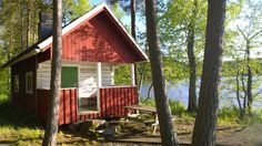 Experience Frantsila in Finland Finnish Sauna, Enjoy Summer, How To Get Warm, Home Values, Mother Nature, Shed, Cottage, Outdoor Structures, Finland