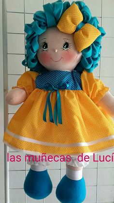 Doll Sewing Patterns, Sewing Toys, Doll Clothes Patterns, Cat Fabric, Fabric Dolls, Felt Dolls, Baby Dolls, Diy Handmade Toys, Doll Face Paint