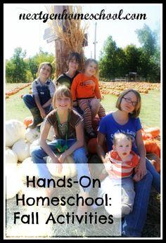 NextGen Homeschool: Hands-On Homeschool Fall Activities