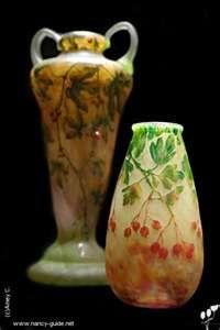 Daum des cristalleries Daum, collection musée des Beaux-Arts,