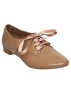 ASOS Fashion Finder | LINLEY D - Ribbon Lace Up Patent Shoe