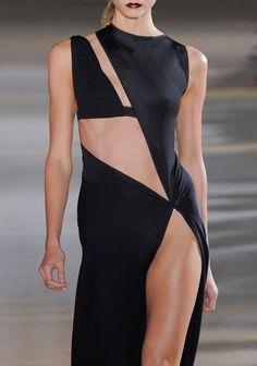 Anthony Vaccarello Spring 2012 Ready-to-Wear Fashion Show Fashion Week, Runway Fashion, High Fashion, Fashion Show, Fashion Outfits, Womens Fashion, Fashion Tips, Style Noir, Mode Style