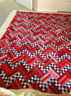 Rail Fence Quilt Inspiration For My Quilt Quilting